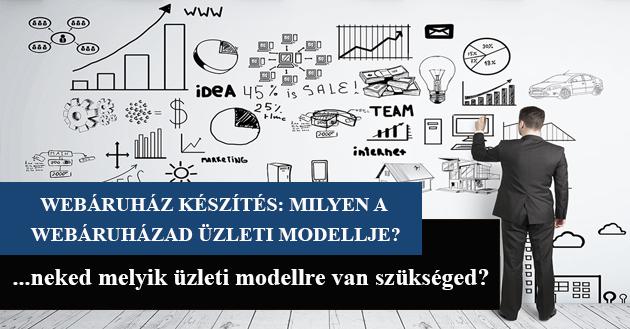 Webáruház készítés- Milyen a webáruházad üzleti modellje